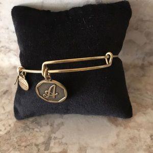 "Alex & Ani ""A"" bracelet"